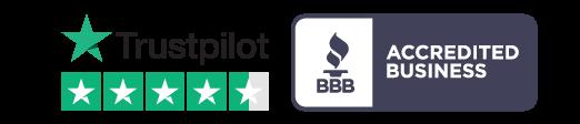 Trustpilot Acredited Business