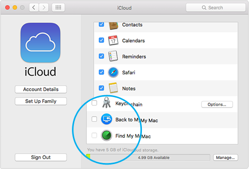 Removing iCloud from Apple Mac