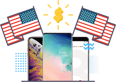 Phones with Flags