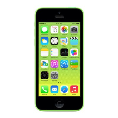 Iphone 5c green front