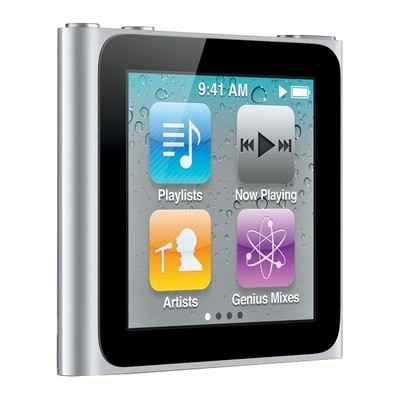 Apple iPod Nano 6th gen 16GB Silver Good - decluttr Store