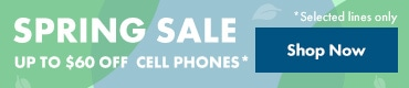 Up to $60 off Cell Phones