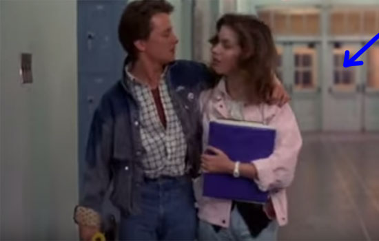 Back to the Future Gifs - School