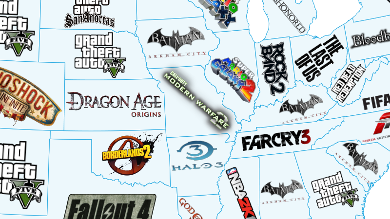 Games Map