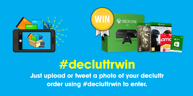 #decluttrwin competition
