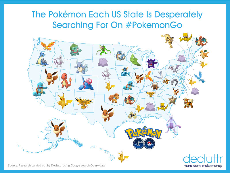 the pokemon each us state is desperately searching for on pokemongo decluttr blog