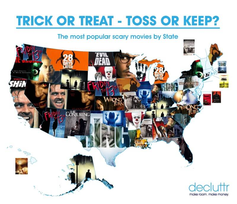 Scary Movies by State