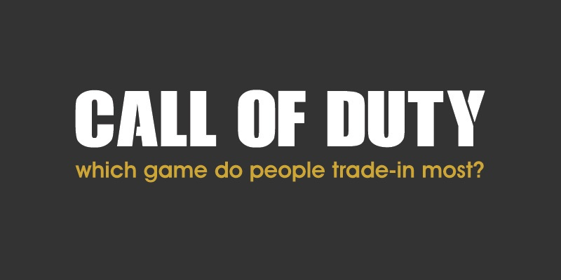 Most traded-in Call of Duty game