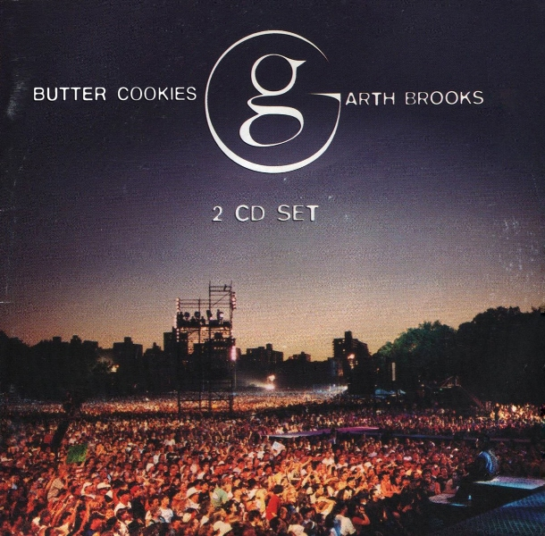 Double Live by Garth Brooks tastes like butter cookies!