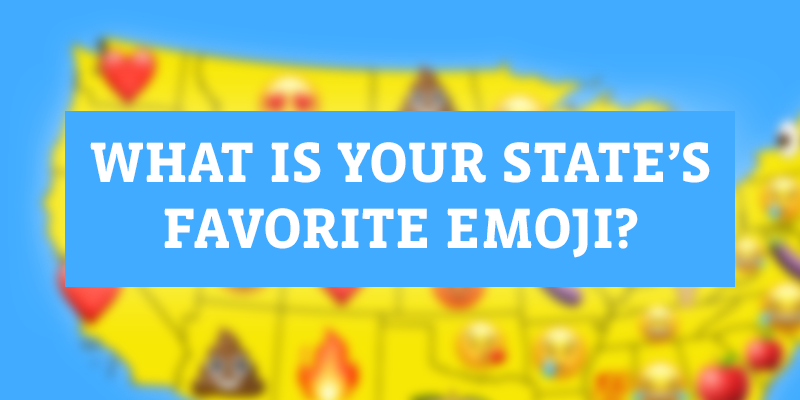 Favorite emoji by state