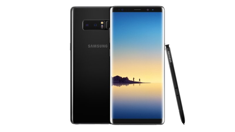 Galaxy Note 8 Midnight Black