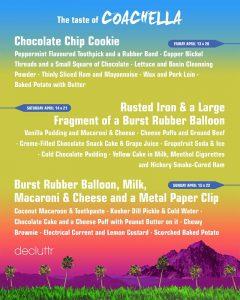 The taste of Coachella