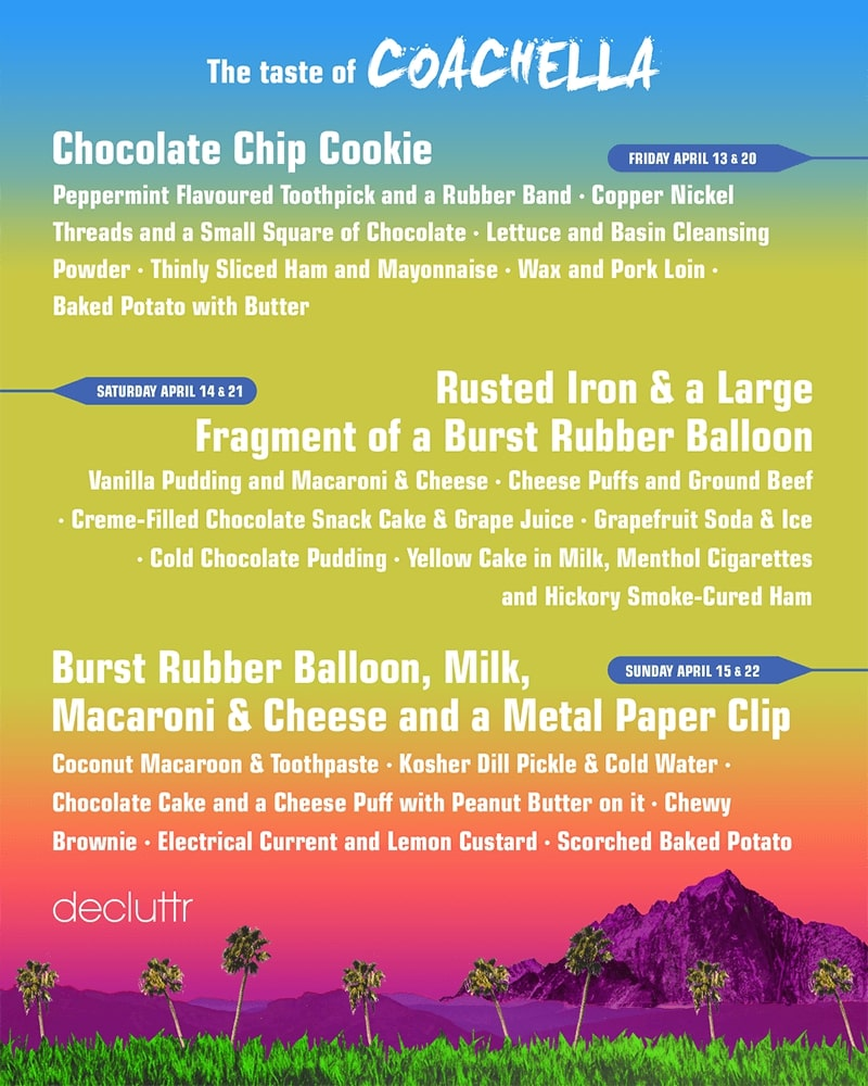 The taste of Coachella