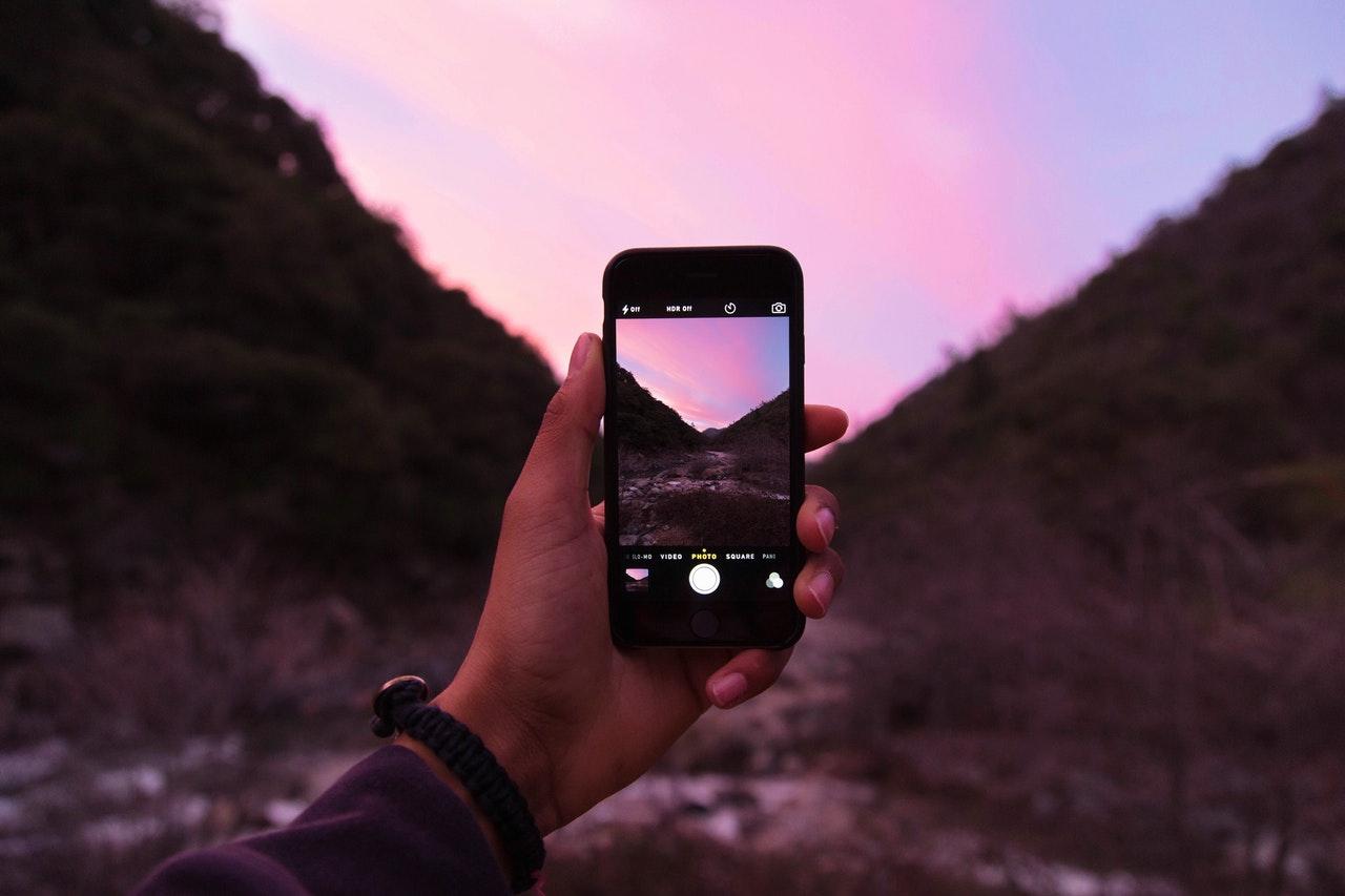 Sunset photo iPhone