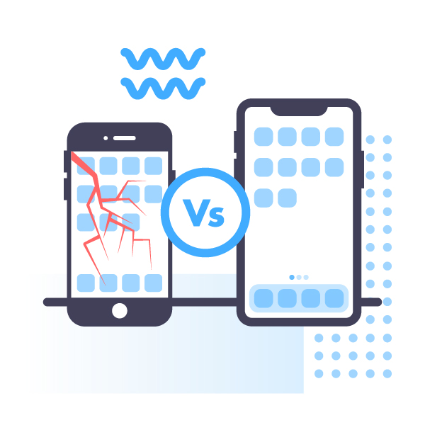 Used phone vs. refurbished phone